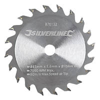 Mini TCT Circular Saw Blade 85 x 10mm 20T