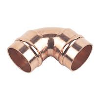 Flomasta   Solder Ring Equal 90° Elbows 22mm 10 Pack