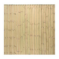 Grange Professional Featheredge Fence Panels 1.83 x 1.8m 3 Pack