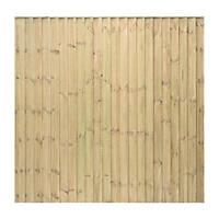 Grange Professional Featheredge Fence Panels 1.83 x 1.8m 3 Pack