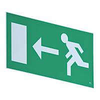 LAP  Emergency Exit Left Front Plate 185 x 385mm
