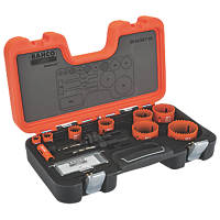 Bahco  Wood/Metal Bi-Metal Holesaw Set 12 Pieces