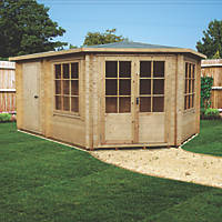 Shire Leygrove Log Cabin 4.3 x 2.9m