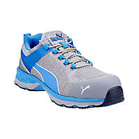 Puma Xcite Low Metal Free  Safety Trainers Grey/Blue Size 6
