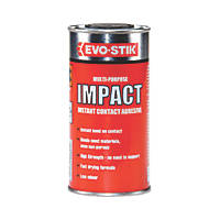 Evo-Stik Impact Adhesive Off-White To Amber 250ml