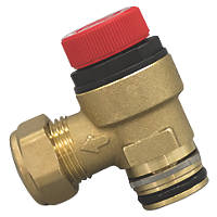 Strom Expansion Relief Valve 15 x 22mm