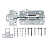 Ajustlock Adjustable Straight Barrel Bolt Zinc 125mm