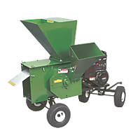 Mighty Mac 12PT1100EX 249cc Hammermill Petrol Chipper-Shredder