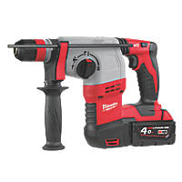 Milwaukee HD18HX-402C 3.7kg 18V 4.0Ah Li-Ion RedLithium  Cordless SDS Plus Hammer Drill