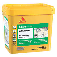 Sika Fastfix Self-Setting Paving Jointing Compound Deep Grey 14kg