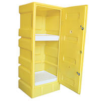PSC2 Yellow Storage Cabinet