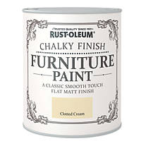 Rust-oleum Universal Furniture Paint Chalky Clotted Cream 750ml