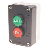 Schneider Electric XALD215 Red & Green Push-Button Complete Control Station