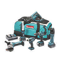 Makita DLX6021M 18V 4.0Ah Li-Ion LXT Cordless 6-Piece Power Tool Kit