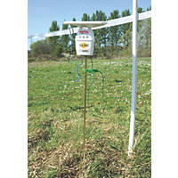 Stockshop SX300 Solar-Powered Electric Fence Energiser Battery-Powered
