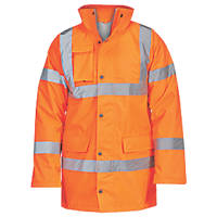 "Hi-Vis Traffic Jacket Orange X Large 58"" Chest"