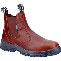 Amblers Ardwell   Non Safety Dealer Boots Brown Size 7