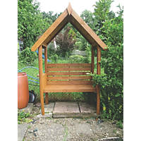 Shire Blossom Arbour 1.23 x 0.65 x 2.16m Pale Green Wash