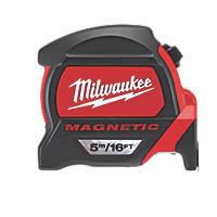 Milwaukee 48227216  5m Magnetic Tape Measure