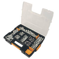 DeWalt PX & Nylon Plug Assortment Box 500 Pcs