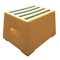 Polyethylene 1-Step Safety Step 300mm Yellow