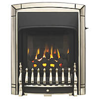 Valor Dream Slimline Pale Gold Slide Control Inset Gas Fire