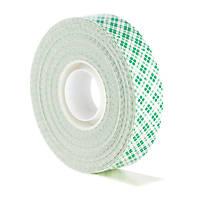 Scotch VHB Permanent Double-Sided Foam Mirror Mounting Tape White 5m x 19mm