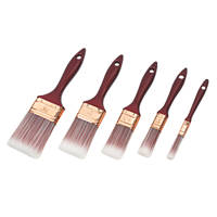 No Nonsense Synthetic Bristle Brushes 5 Piece Set