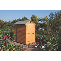Rowlinson 4' x 6' (Nominal) Apex Shiplap T&G Timber Shed