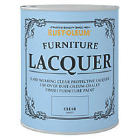 Rust-oleum Universal Furniture Lacquer Matt Clear 750ml