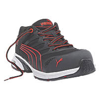 Puma Fuse Motion   Safety Trainers Red Size 8