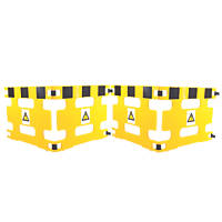 Addgards Handigard 4-Panel Barrier Yellow / Black