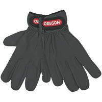 Oregon  Leather Working Gloves Grey Large