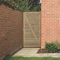 Forest  Garden Gate 900 x 1800mm Natural Timber