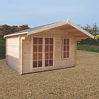 Shire Cannock Log Cabin 12 x 12'