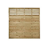Forest Kyoto  Lattice Top Fence Panels 6 x 6' Pack of 6