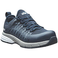 Site Trona Metal Free  Safety Trainers Navy Size 7