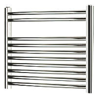 Blyss  Curved Towel Radiator 500 x 550mm Chrome