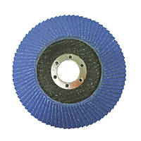 Erbauer  Zirconium Flap Disc 115mm 120 Grit