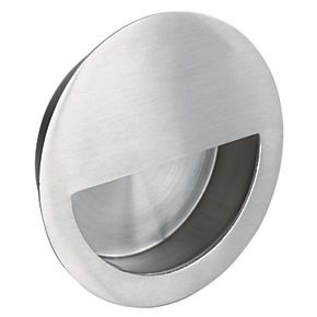 Eurospec Circular Flush Pull W Semi Circle Insert Handle