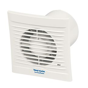Vent Axia 100ht 15w Bathroom Extractor Fan With Humidistat