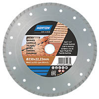 Norton  Multi-Material Diamond Cutting Disc 230 x 22.23mm