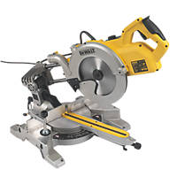 DeWalt DWS778-GB 250mm  Electric Single-Bevel Sliding Compound Mitre Saw 240V