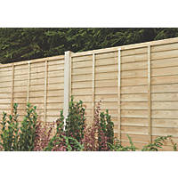 Forest Super Lap  Fence Panels 6 x 6' Pack of 5