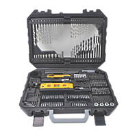 Straight Shank Mixed Drill Bit Set 302 Pieces