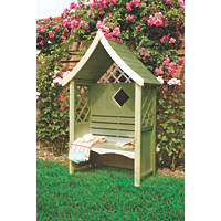 Shire Rose Arbour Green 1236 x 654 x 2235mm