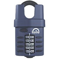 Squire  Die-Cast Steel Combination Closed Shackle Padlock 60mm
