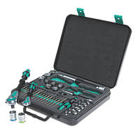 Wera Zyklop Mixed Drive Ratchet, Socket & Bit Set 43 Pieces