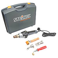 Steinel HG2620 E 2300W Electric Heat Gun & Roofing Accessory Kit 240V