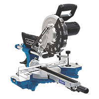 Scheppach HM254 255mm  Electric Single-Bevel Sliding Mitre Saw 230V